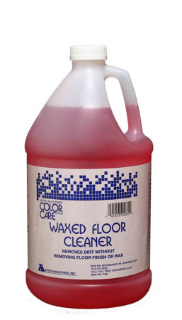 Waxed floor cleaner image