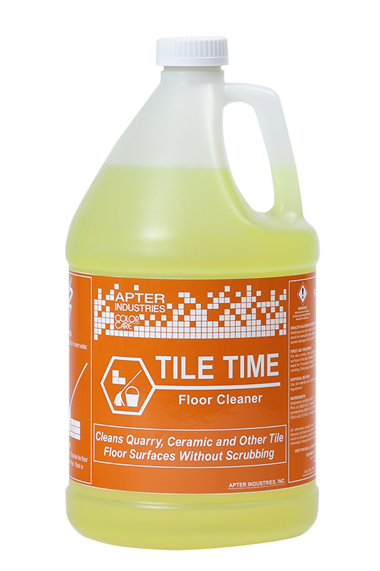 Tile Time Floor Cleaner - Apter Industries